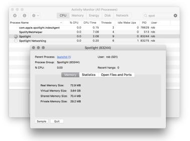 Mac Spotlight Text Input Not Working? Kill it  – rob maceachern